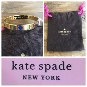 NWT Kate Spade  Blue ♠️ bangle.